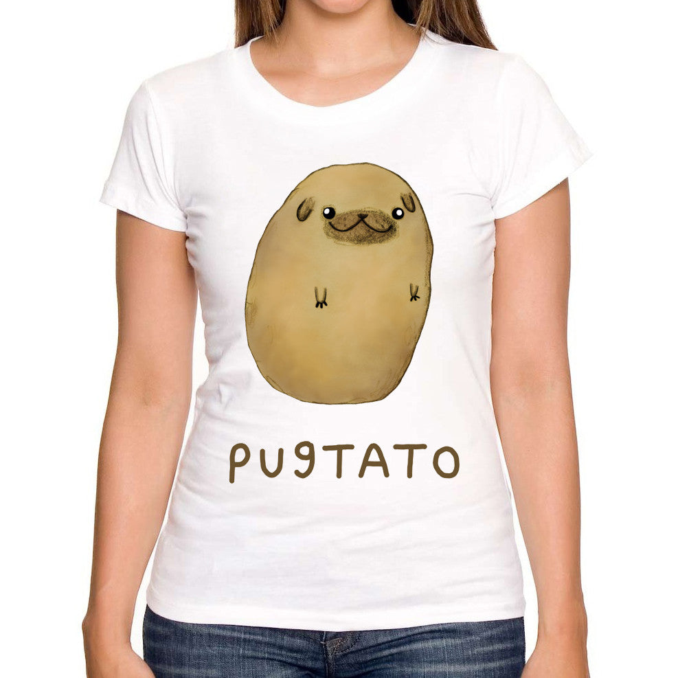Pugtato Women's T-Shirt