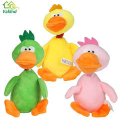 Squeaking Plush Duck Toy