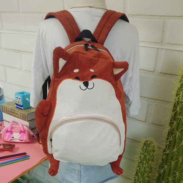 Pug Shaped BackPack