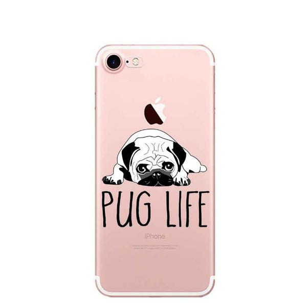 Pug Life iPhone Cover