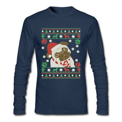 Christmas Pug Long Sleeve Tee