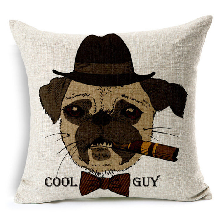 Cool Guy Throw Pillow