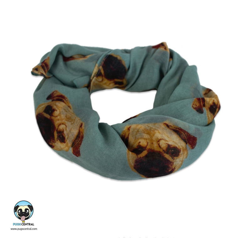 Pug Lightweight Scarves