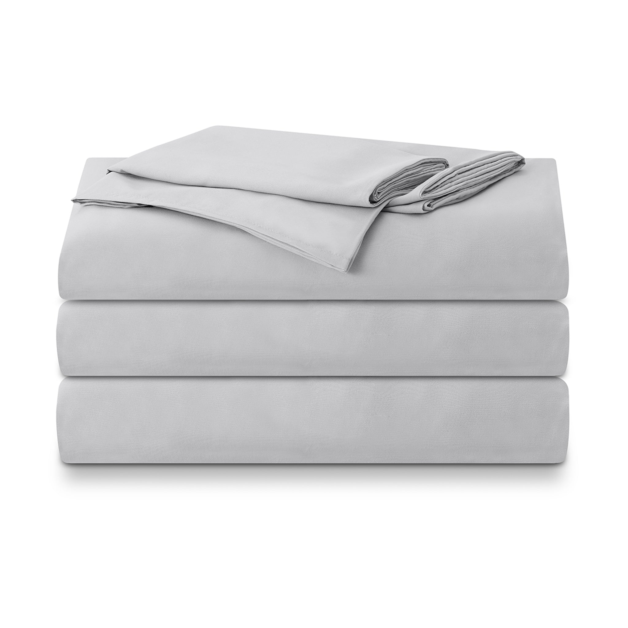 Isselle Auden Bed sheet set & duvet cover | Grey Slate