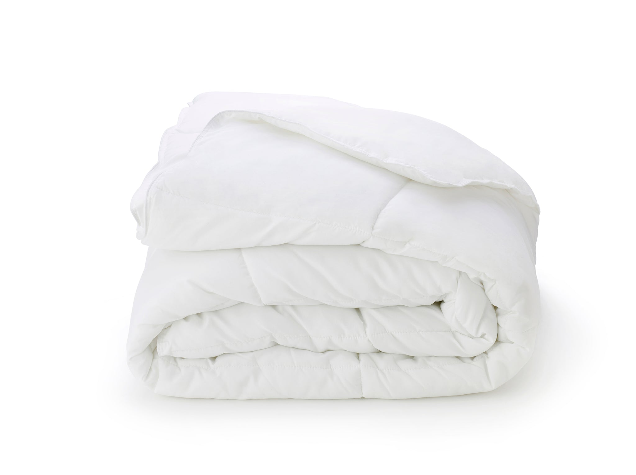 Adair Comforter - Queen, Pearl White