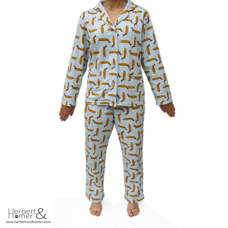 Hot Diggety Dog Pyjama Set