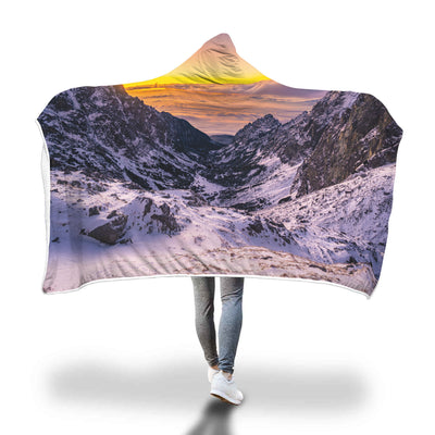 The Path Hooded Blanket