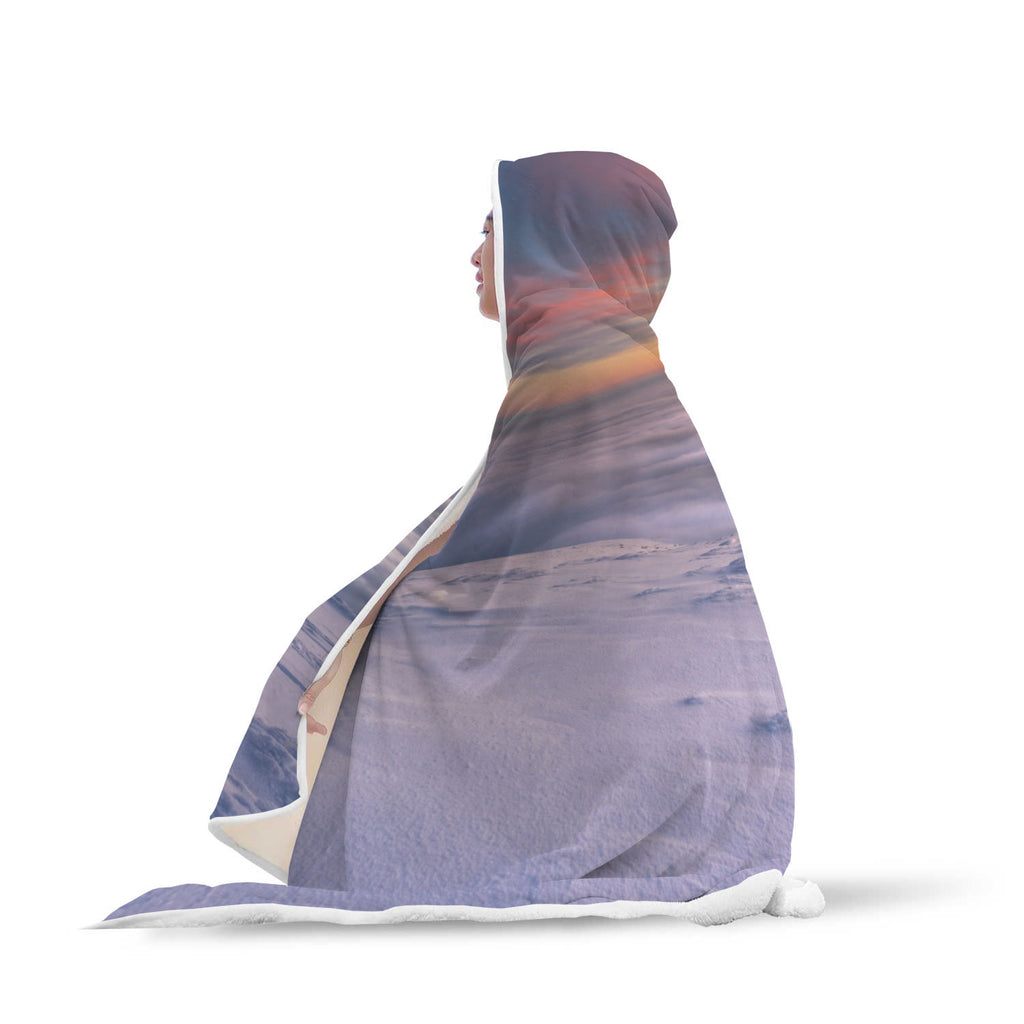 The Cloud Waterfall Hooded Blanket