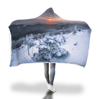 The Talking Fire Hooded Blanket
