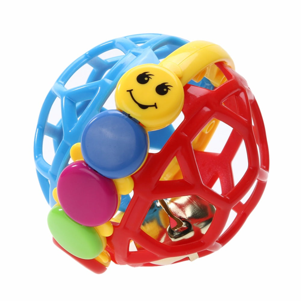 Toddler Baby Fun Little Loud Bell Ball Hand Rattles Toy Develop Intelligence Toy