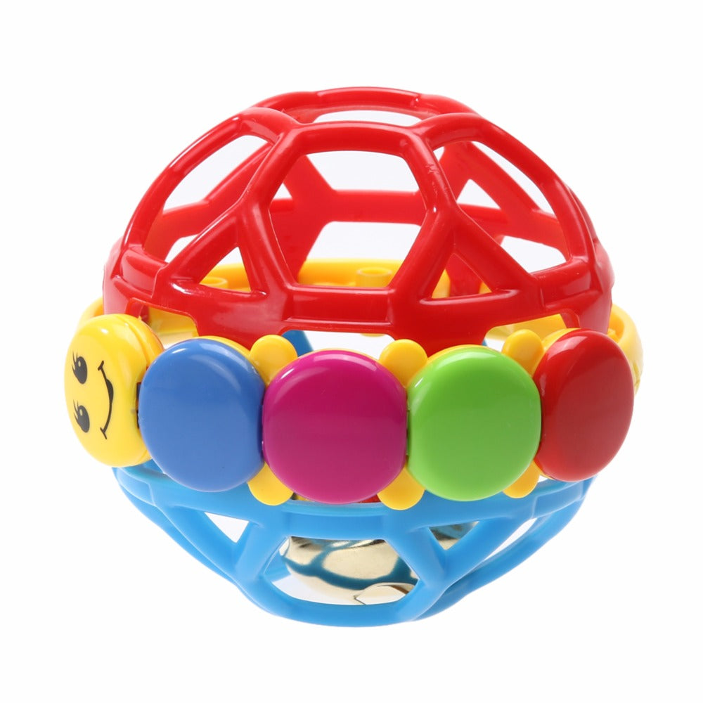 New Baby Toy Fun Little Loud Bell Rattles Develop Intelligence Activity Grasping