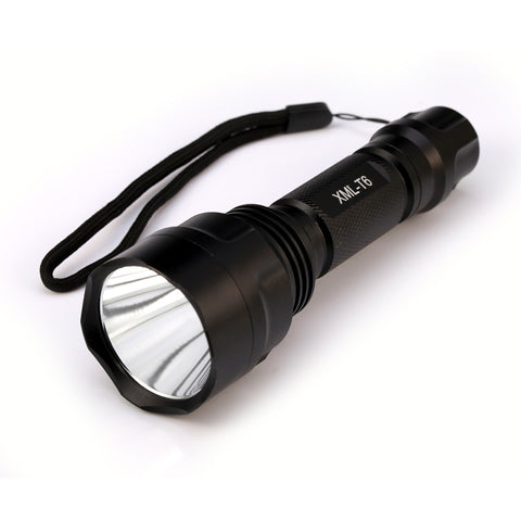LED Flashlight  XML-T6 8000LM Aluminum Body Waterproof