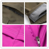 Women Pants Outdoor Sports Inside Fleece for Hiking and Camping.