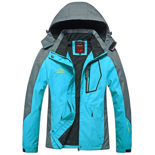 Men Women Outdoor Camping Hiking Climbing Waterproof Jacket windbreaker