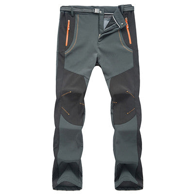 Men Softshell Waterproof Hiking Pants
