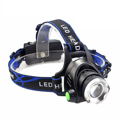 LED Headlight with Aluminum body