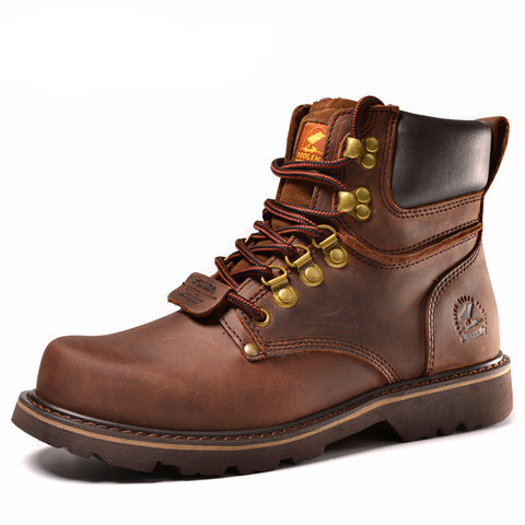 Mens Military Boots. Desert style with genuine leather upper.