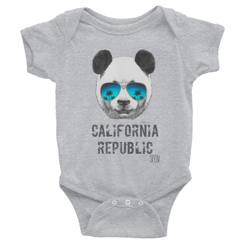 California Republic SFELV Infant Bodysuit