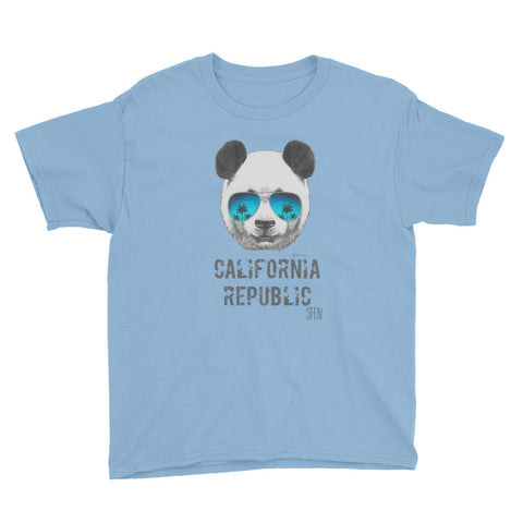 California Rebulic SFELV Boy's Short Sleeve T-Shirt