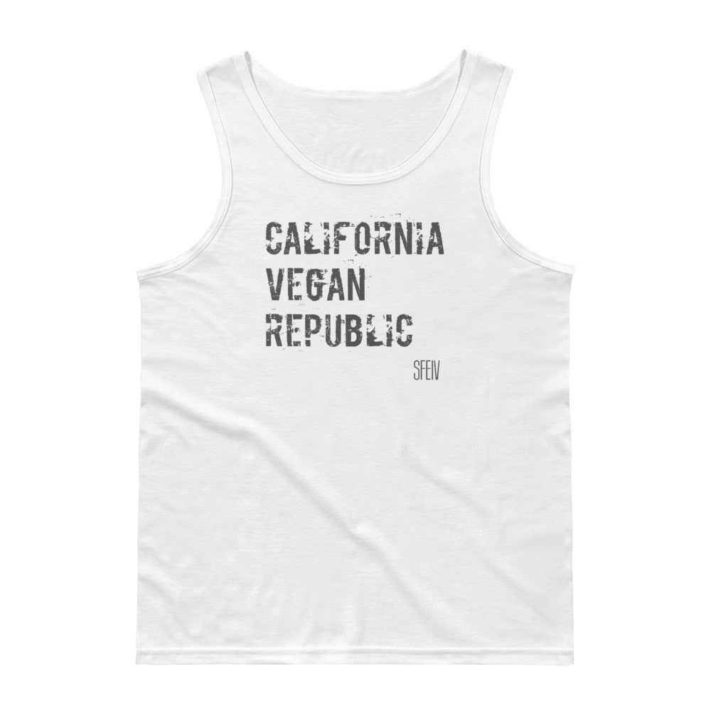 California Vegan Republic SFELV Men's Tank Top