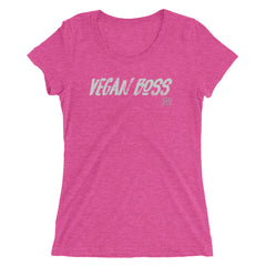VEGAN BOSS SFElV Women's short sleeve t-shirt