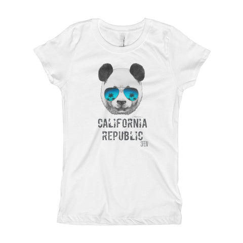California Republic SFELV Girl's T-Shirt