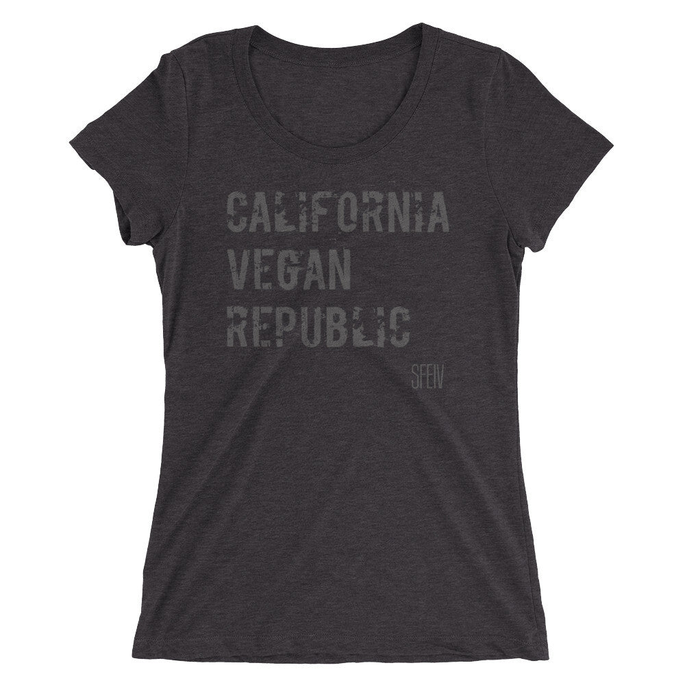 California Vegan Republic SFELV Women's short sleeve t-shirt