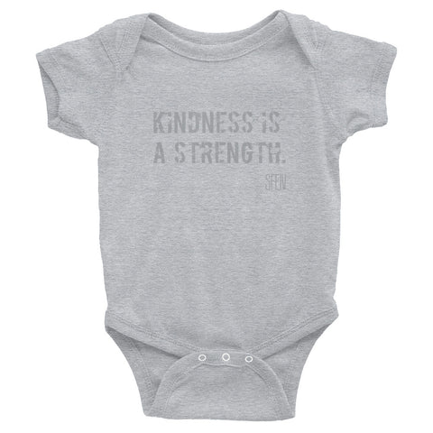 Kindness Is a Strength. SFELV Infant Bodysuit