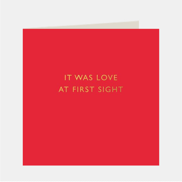 Greeting Card (It was love at First sight)
