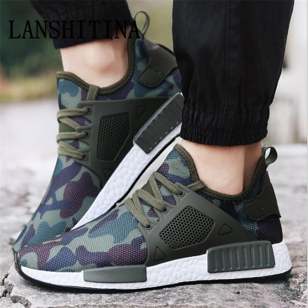 Spring Summer Fashion Man Shoe Army Green Mens Shoes Casual Footwear