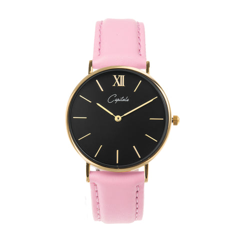 Capitola Gold Black/Rose