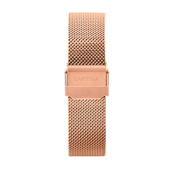 Mesh Gold Rose Band