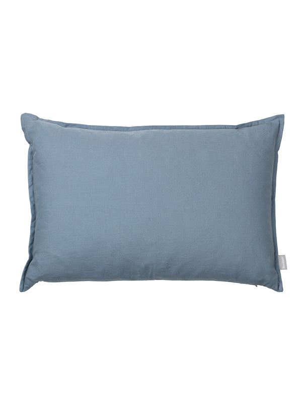 LEAN cushion, 60 cm denim blue
