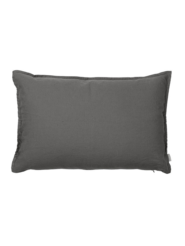 LEAN cushion, 60 cm dark grey med fyld