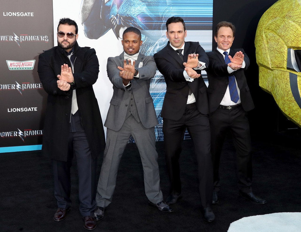 The Power Rangers Are Back With A BANG!! The Original Cast Get Together On The Red Carpet