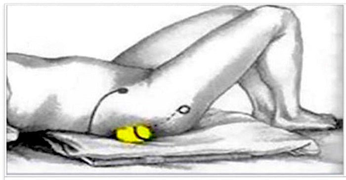 How To Stop Both Back Pain And Sciatic Nerve Pain With Just a Tennis Ball