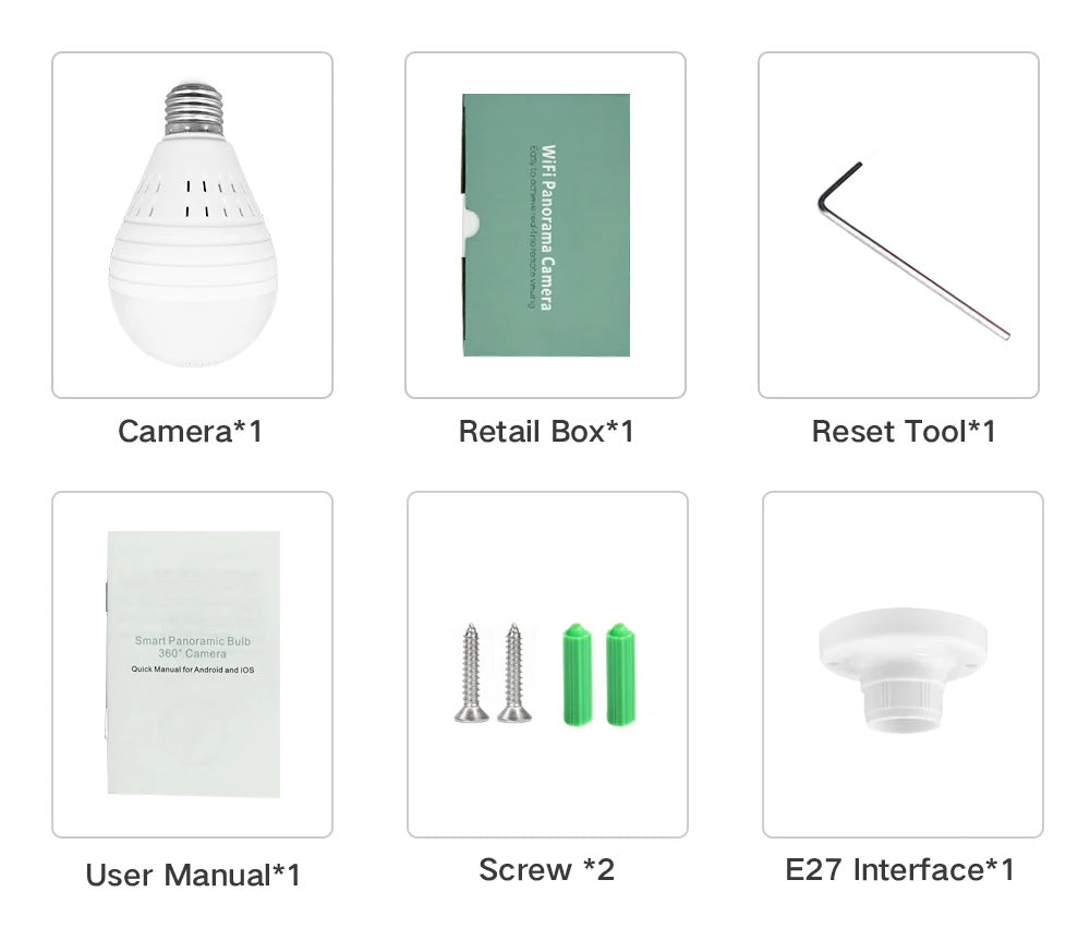 Light Bulb package list