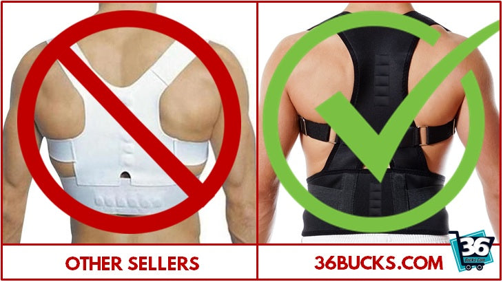 Back brace posture corrector review