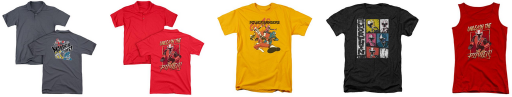 Power Ranger T-Shirts