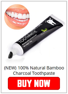 100% Natural Bamboo Charcoal Toothpaste