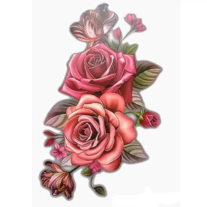 Large Flower Body Tattoo - 36Bucks.com