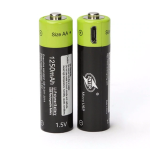 (NEW) Rechargeable AA Batteries with Built-in USB Port - 36Bucks.com