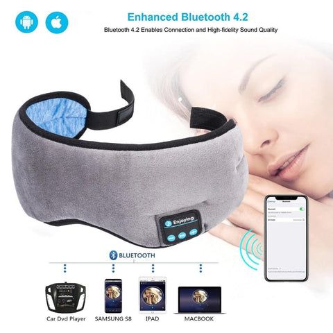(NEW) iZen Bluetooth Sleep Headphones