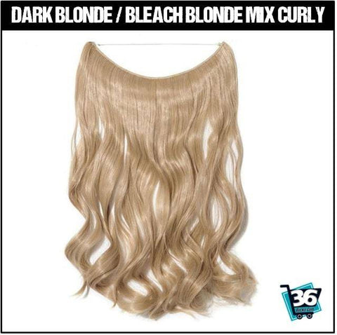 HairRitzy Invisible Halo Hair Extensions - 36Bucks.com