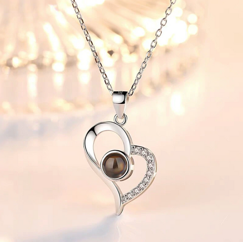 I Love You Projection Necklace (100 Languages) - 36Bucks.com