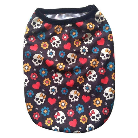 Skulls For Life - Dog Outfit - 36Bucks.com