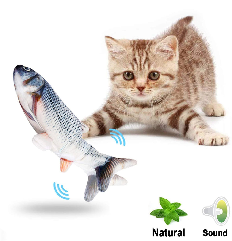 Vibrating Fish Toy For Cats - 36Bucks.com