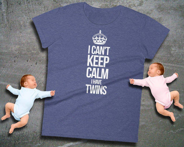 Funny Twins Shirt - Ladies Short Sleeve Tee | Twins Gift | Twins Mom | Twins Baby Shower | Twin Shirt | Gift For Twins Mom | Twins Tee