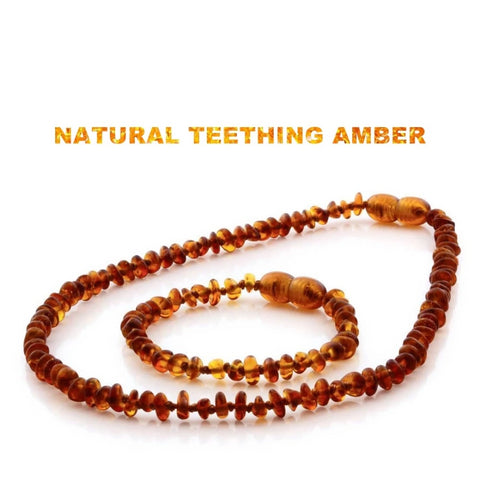 Baby Amber Teething Necklace