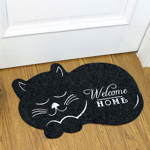 3D Printed Sleeping Cat Doormats Anti-slip - 36Bucks.com